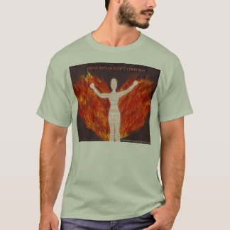 RSD/CRPS Fire Angel T-Shirt