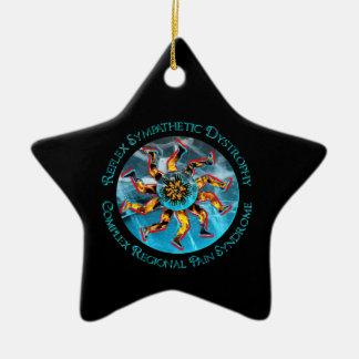 RSD / CRPS Flaming Starbursts STAR Ornament