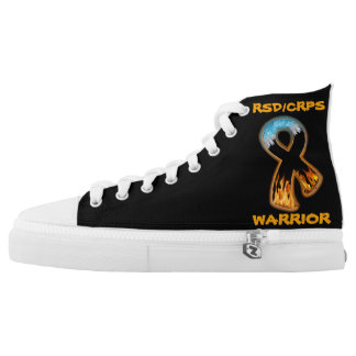 RSD/CRPS WARRIOR  fire & ice High Tops