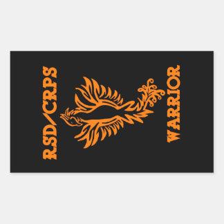RSD/CRPS WARRIOR  phoenix Sticker