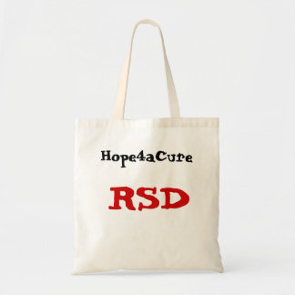 RSD, Hope4aCure tote bag RSDS CRPS
