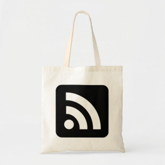 RSS Feed Icon Canvas Bags
