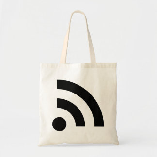 RSS Feed Icon Tote Bags