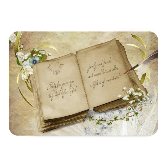 RSVP-35th Anniversary Vow Renewal Card