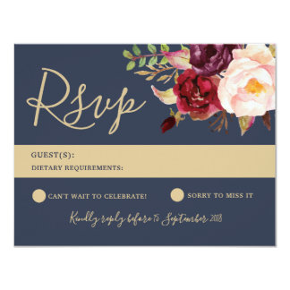 RSVP Card - Lucy Suite