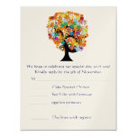 RSVP Cards-Require the 5 x 7 size Inivitations Personalized Invitations