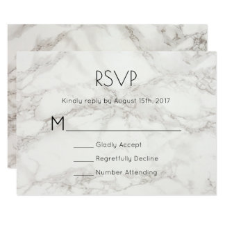 RSVP Faux Marble Alabaster Taupe Tan Abstract Card