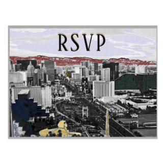 RSVP Las Vegas Event Modern Postcard