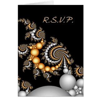 RSVP Notecard Greeting Card