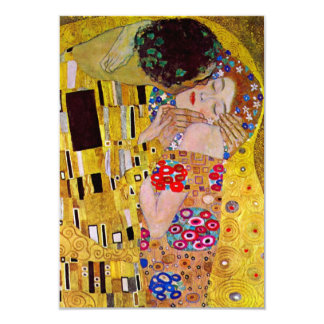 RSVP Response Card; The Kiss by Gustav Klimt Card