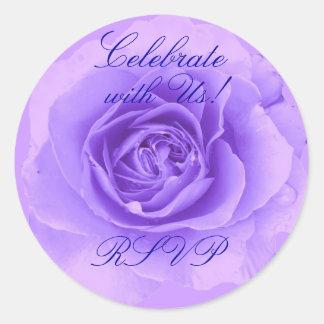 RSVP Rose Sticker