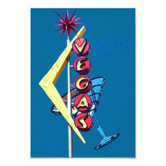 RSVP Vintage Neon Las Vegas Card