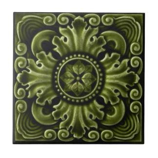 RT030 Faux-Relief Antique Reproduction Tile