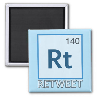 RT 140 / Retweet Element Magnets