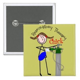 RT Chick O2 Tank and Ambu Bag Stick People Pins