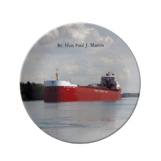 Rt. Hon Paul J. Martin decorative plate