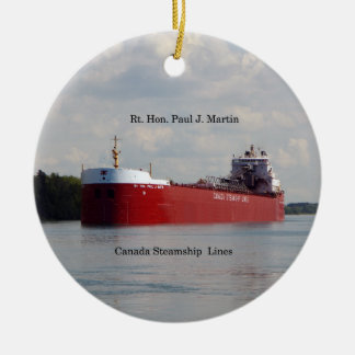 Rt. Hon Paul J. Martin ornament