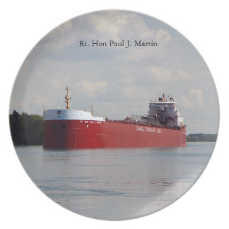 Rt. Hon Paul J. Martin plate