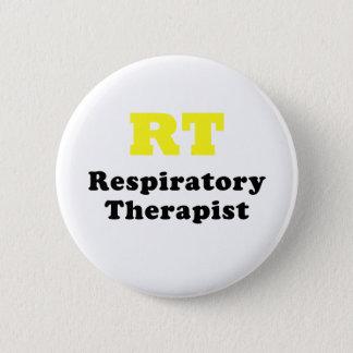 RT Respiratory Therapist 2 Inch Round Button