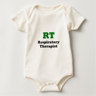 RT Respiratory Therapist Baby Bodysuit