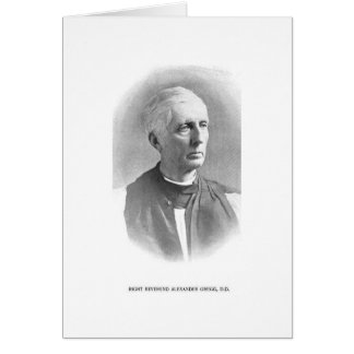 Rt. Rev. alexander Gregg Card