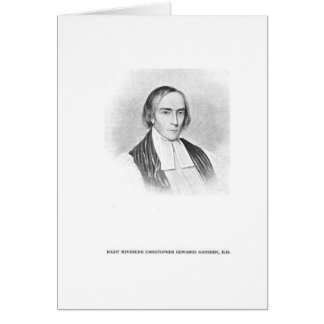Rt. Rev. Christopher Edwards Gadsden Card