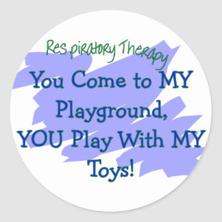 RT You come to MY playground play MY TOYS Stickers