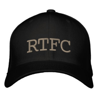RTFC EMBROIDERED BASEBALL CAP