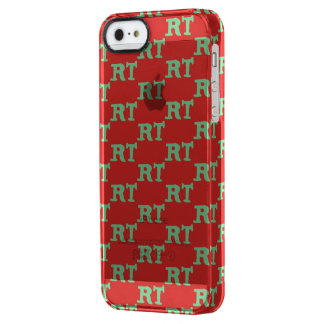 RTHOILDAY MERCH CLEAR iPhone SE/5/5s CASE
