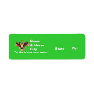 Rtn Address 2 Spirit Is Not Forgotten America Return Address Label