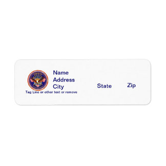 Rtn Address Spirit Is Not Forgotten America Return Address Label