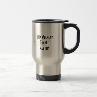 RTP Weekend Travel Meetup Stainless Mug