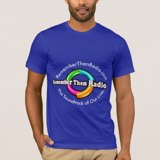 RTR Logo Dark Curved Print T-Shirt