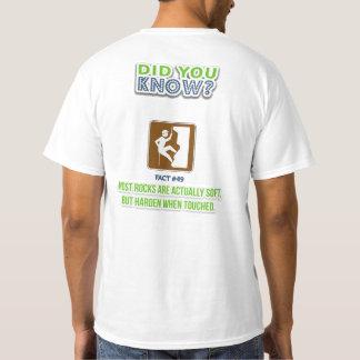 RTSF T-Shirt - Facts #49: Rocks