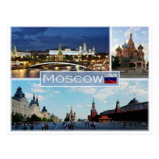 RU Russia - Moscow - Postcard