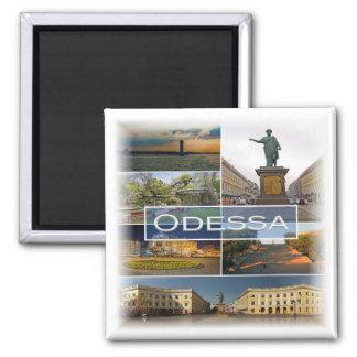 RU * Russia - Odessa Ukraine Magnet