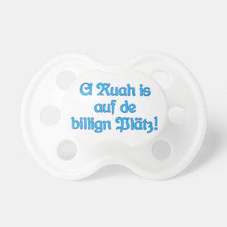 Ruah cheap Plätz Bavarian Bavaria Baby Pacifier
