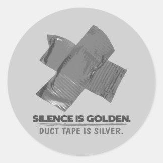 ruban adhésif - la parole est d'argent le silence
