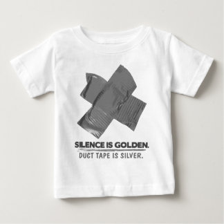 ruban adhésif - la parole est d'argent le silence t shirts