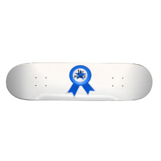 Ruban bleu de premier endroit skateboards personnalisés