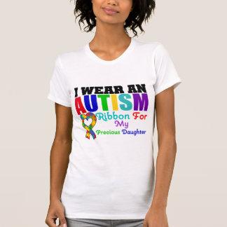 Ruban d'usage de l'autisme I pour ma fille précieu T-shirt