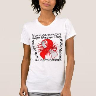 Ruban en spirale d'inspirations d'anémie t-shirt