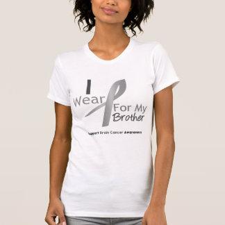 Ruban gris d'usage du cancer du cerveau I pour mon T-shirts