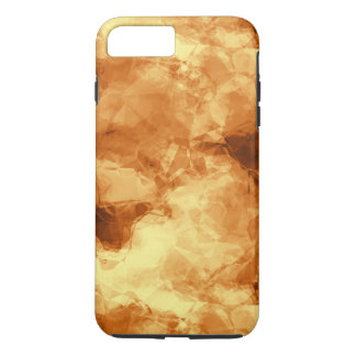 Rubbed Gold Foil Abstract iPhone 7 Plus Case