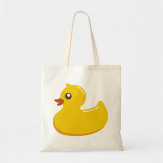 Rubber Duck Budget Tote Bag