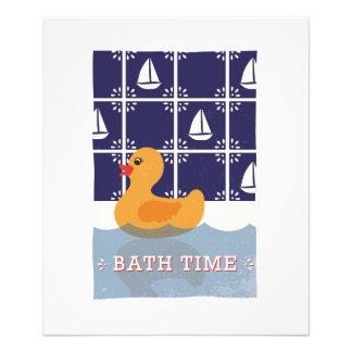 Rubber Duck Bath Children's Wall Art Photo