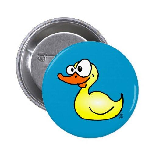 Rubber duck pinback buttons