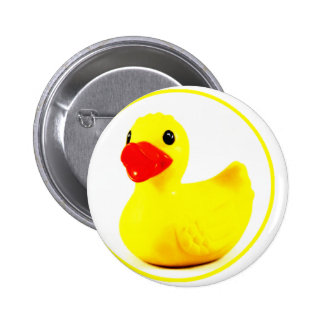 Rubber Duck Circle Pattern Design Pins