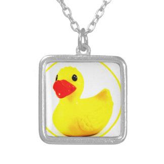 Rubber Duck Circle Pattern Design Custom Jewelry