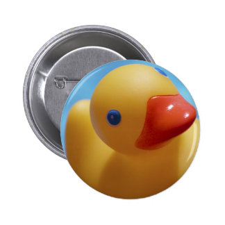 Rubber Duck Close-Up 2 Inch Round Button